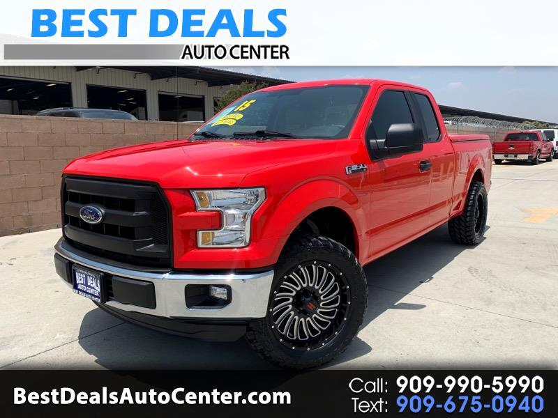 2015 Ford F-150 XLT SuperCab 8-ft. 2WD