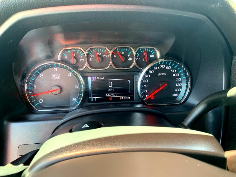 2016 Chevrolet Silverado 1500 LT Double Cab 2WD