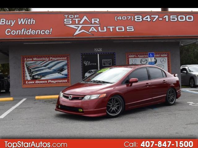 2008 Honda Civic Si 4dr Sedan 6M