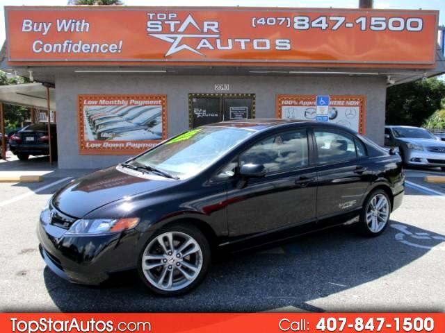 2008 Honda Civic Si 6-Spd with Navigation and Performance Tires