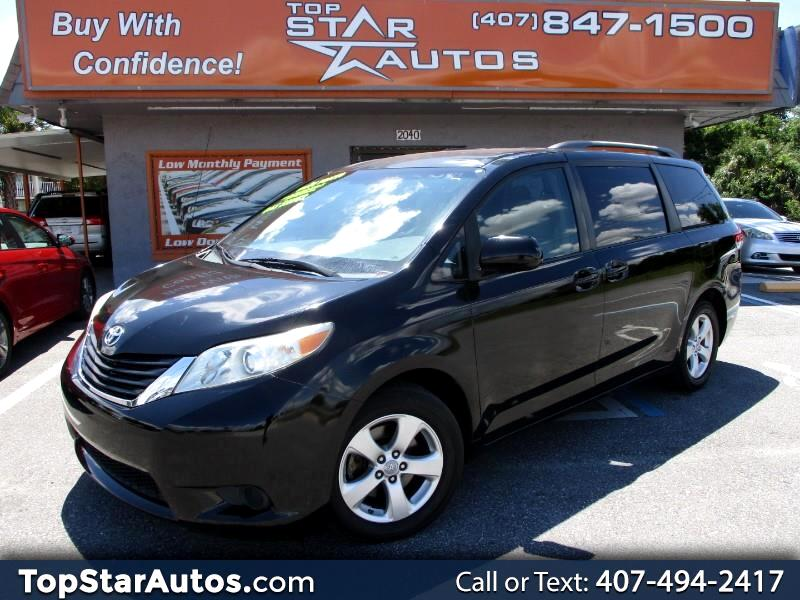 2011 Toyota Sienna 5dr 8-Pass Van LE FWD (Natl)