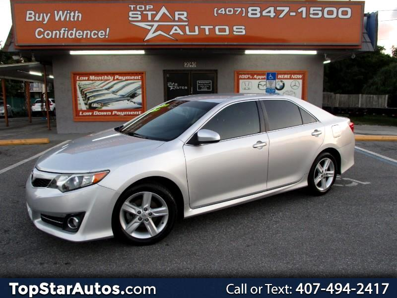 2012 Toyota Camry 4dr Sdn SE Auto (Natl)