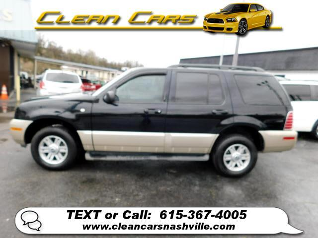"""Mercury Mountaineer 4dr 114"""" WB Convenience 2004"""