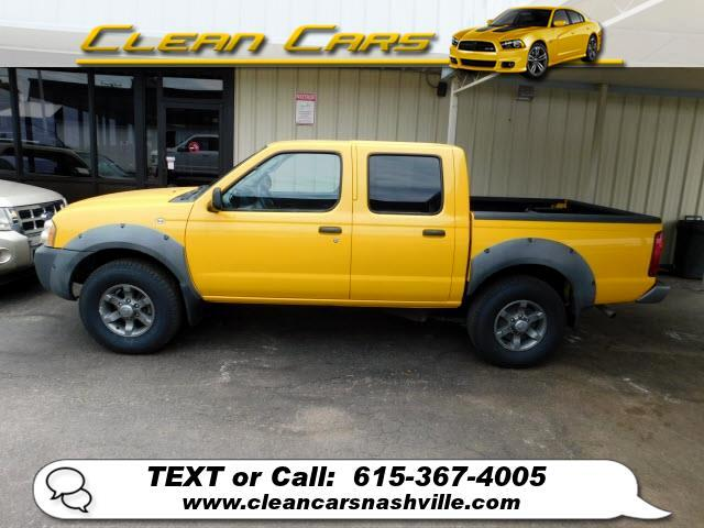 Nissan Frontier 2WD XE Crew Cab V6 Manual Std Bed 2003