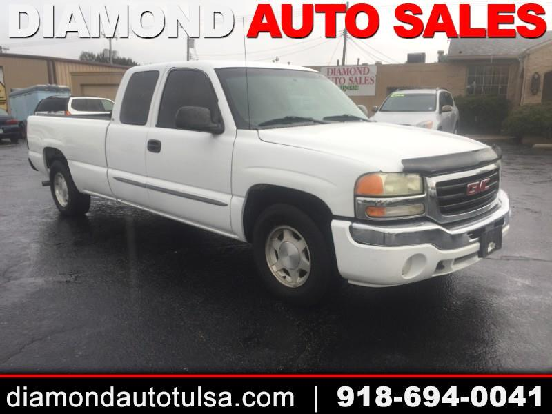 GMC Sierra 1500 SLE Ext. Cab Long Bed 2WD 2004