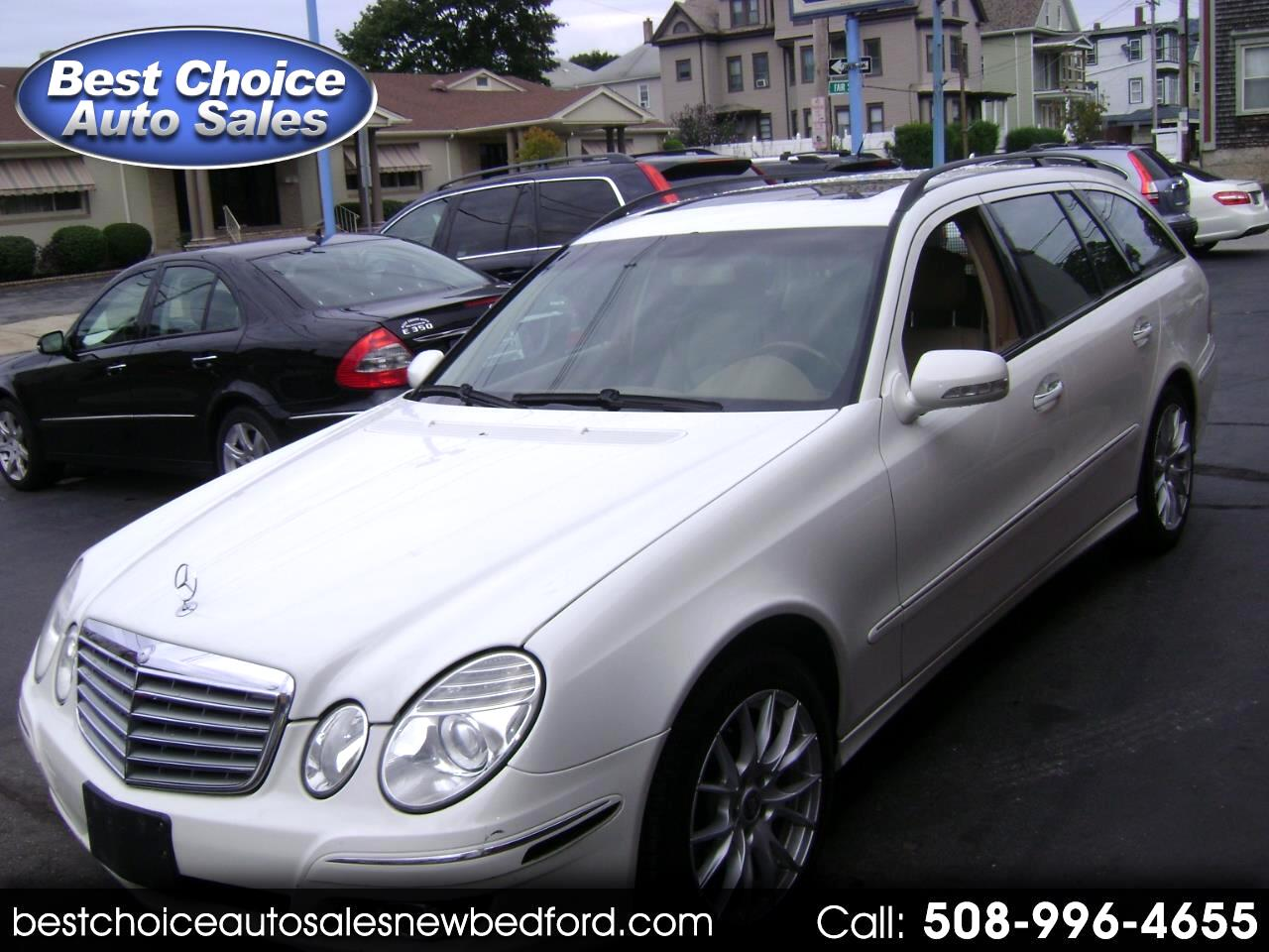 2008 Mercedes-Benz E-Class Wagon E350 4Matic