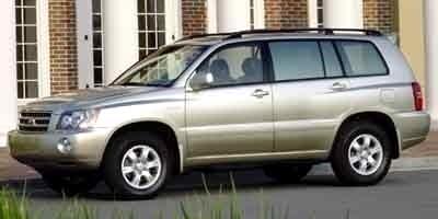 2001 Toyota Highlander V6 4WD