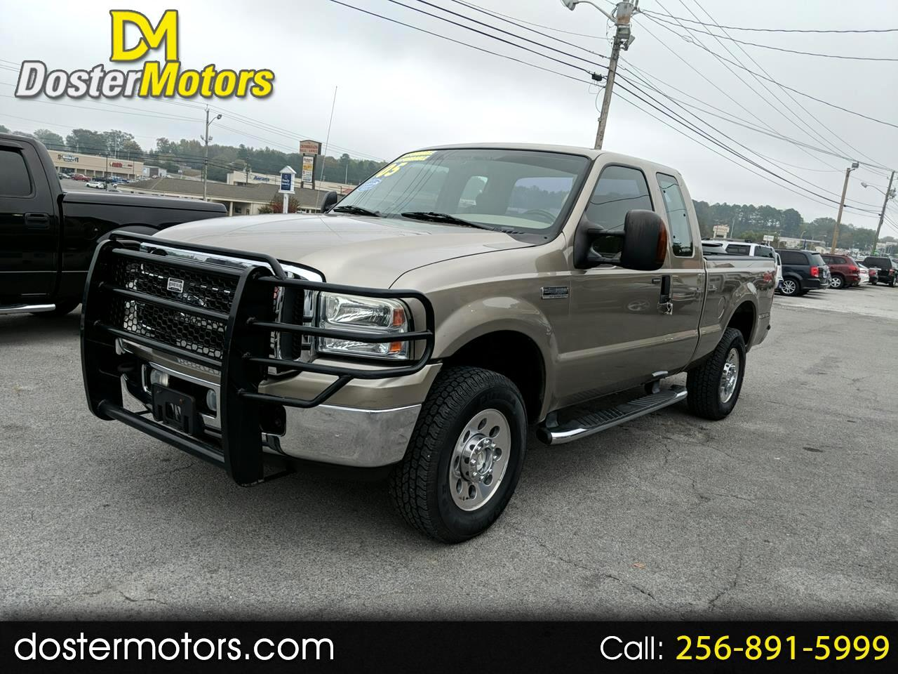 Ford F-250 SD XL SuperCab 4WD 2005