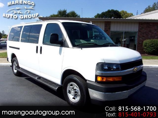 "2018 Chevrolet Express Passenger RWD 3500 135"" LT"
