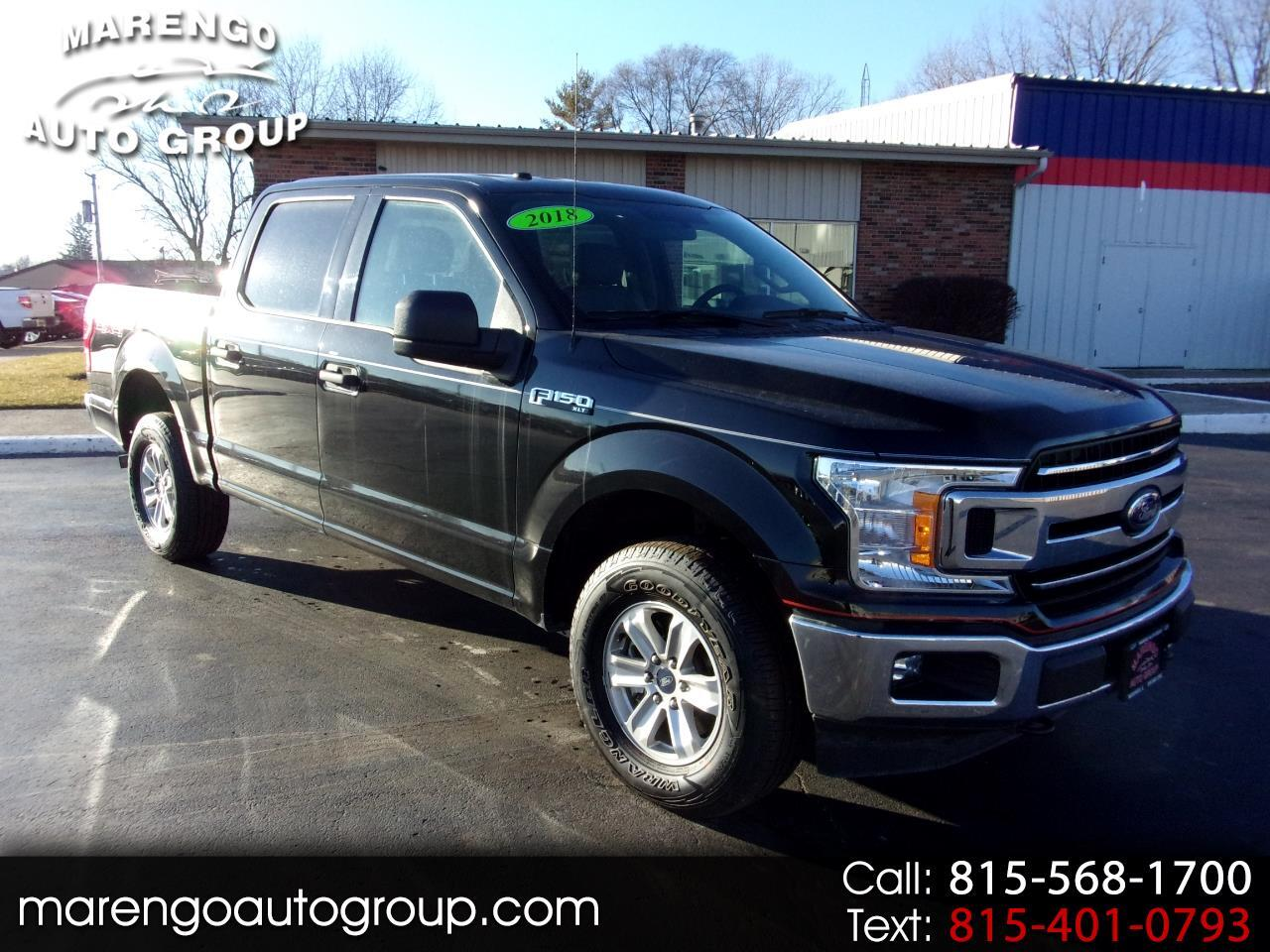 2018 Ford F-150 4WD SuperCrew 139