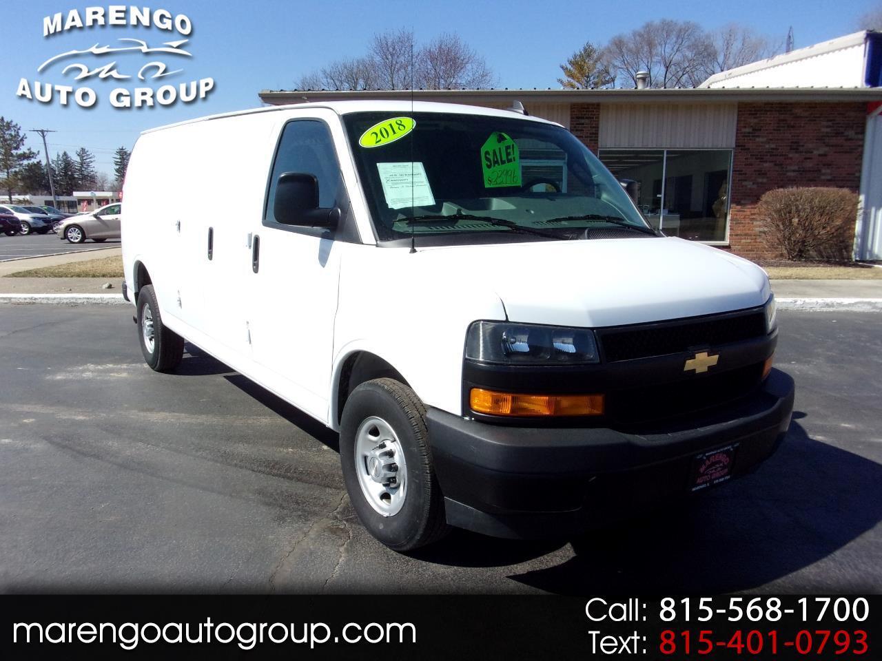 """2018 Chevrolet Express Cargo Van RWD 2500 155"""""""