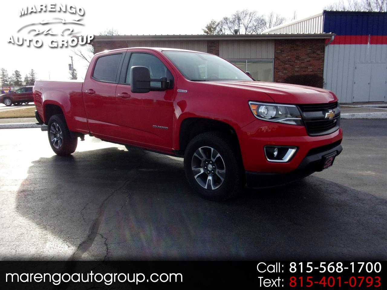 "2017 Chevrolet Colorado 4WD Crew Cab 140.5"" Z71"