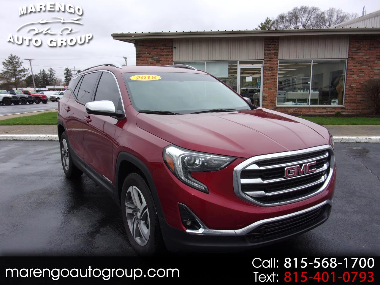 2018 Gmc Terrain Diesel Review Price >> Used 2018 Gmc Terrain Awd 4dr Slt Diesel For Sale In Marengo