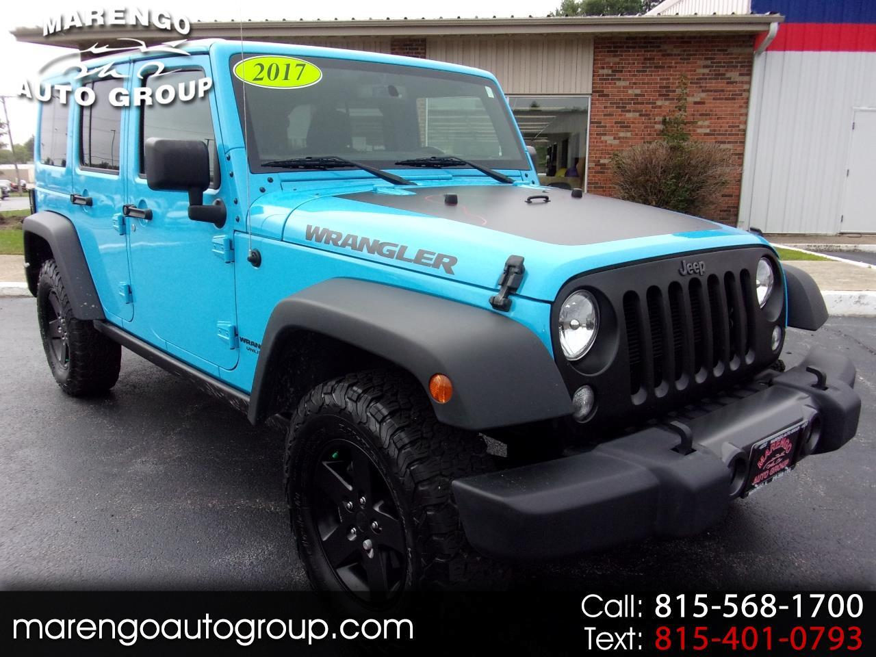 2017 Jeep Wrangler Unlimited Big Bear 4x4 *Ltd Avail*