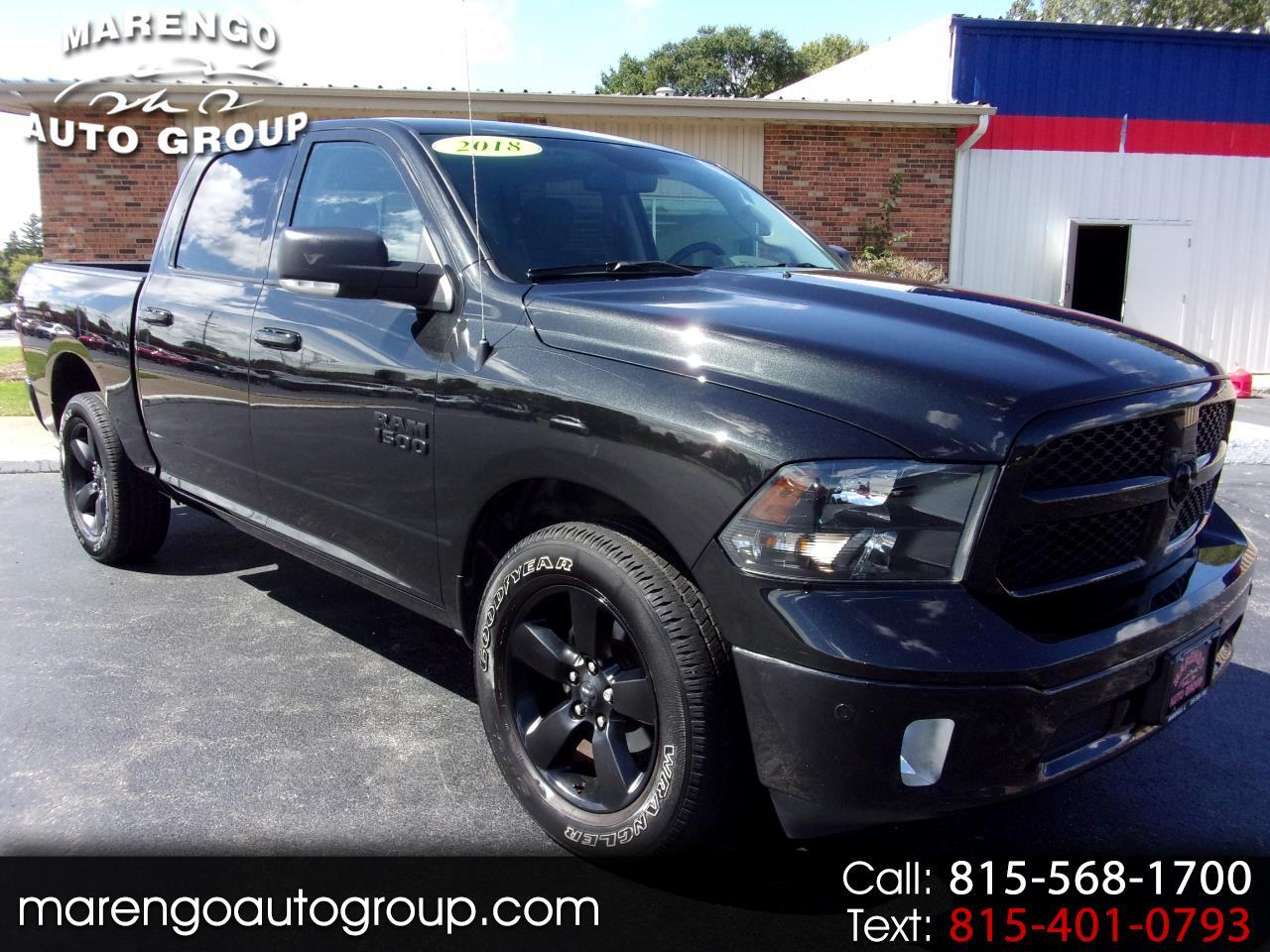 "2018 RAM 1500 Big Horn 4x4 Crew Cab 5'7"" Box"