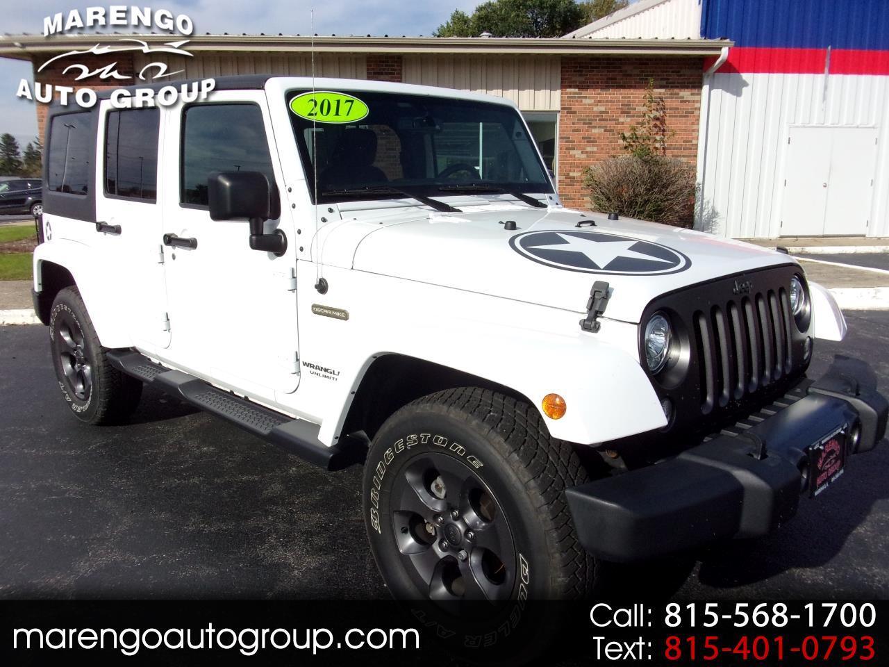 2017 Jeep Wrangler Unlimited Freedom 4x4 *Ltd Avail*