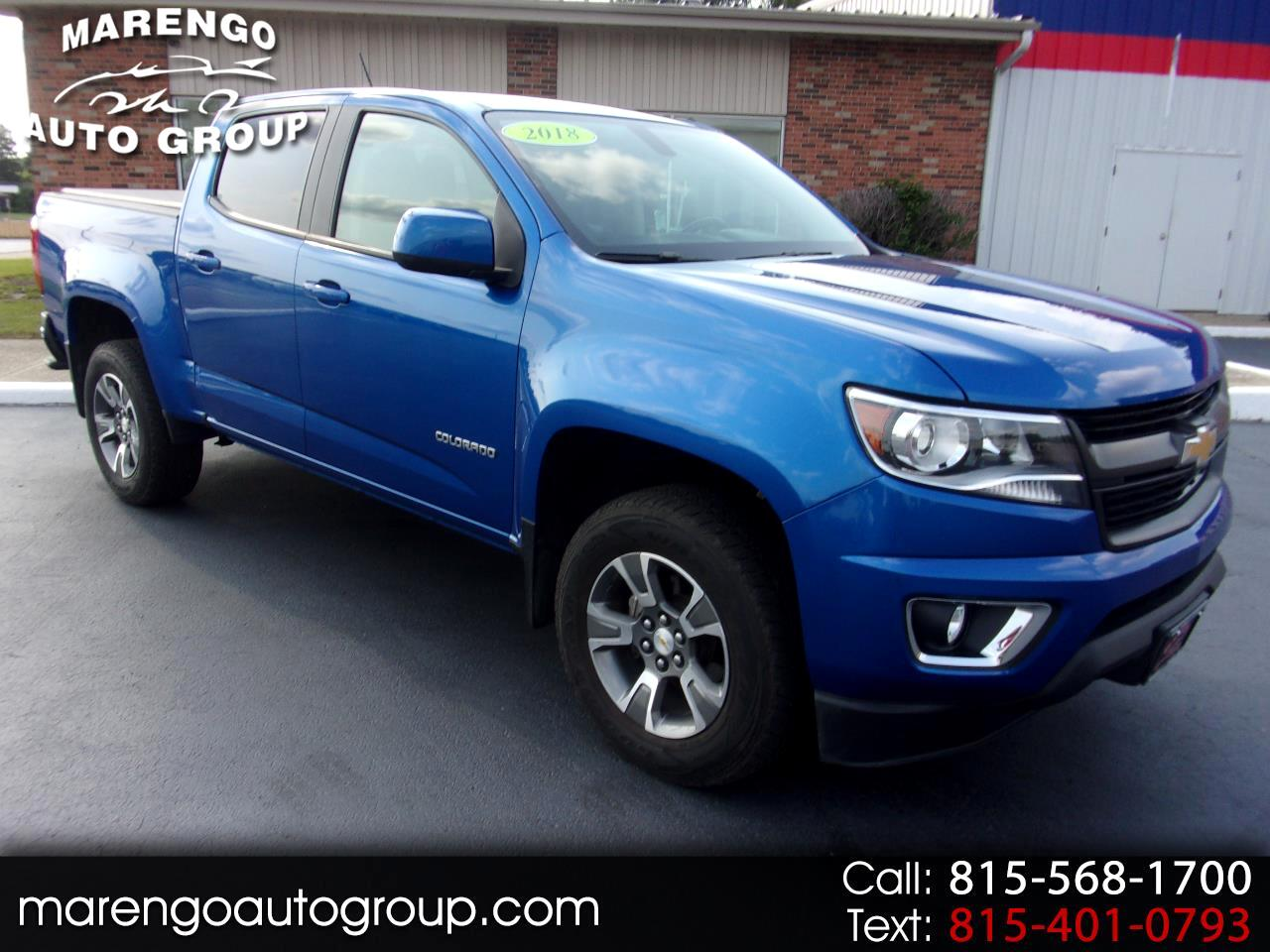 "Chevrolet Colorado 4WD Crew Cab 128.3"" Z71 2018"
