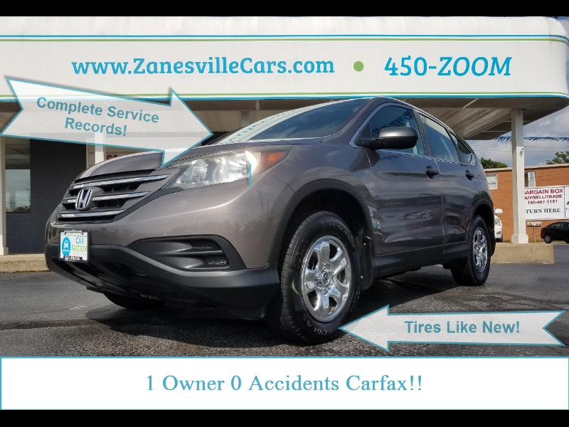 Honda CR-V LX 4WD 5-Speed AT 2012