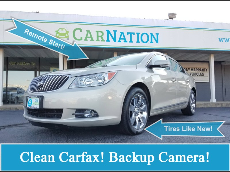 2013 Buick LaCrosse Premium Package 1, w/Leather