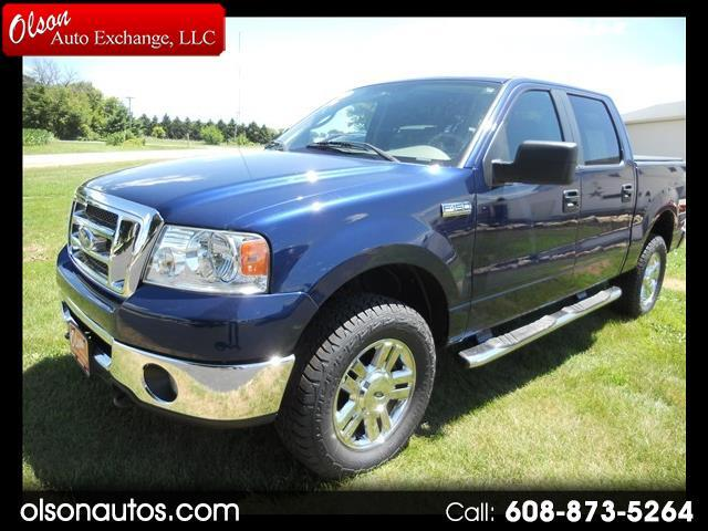 2008 Ford F-150 XLT SuperCrew Short Bed 4WD