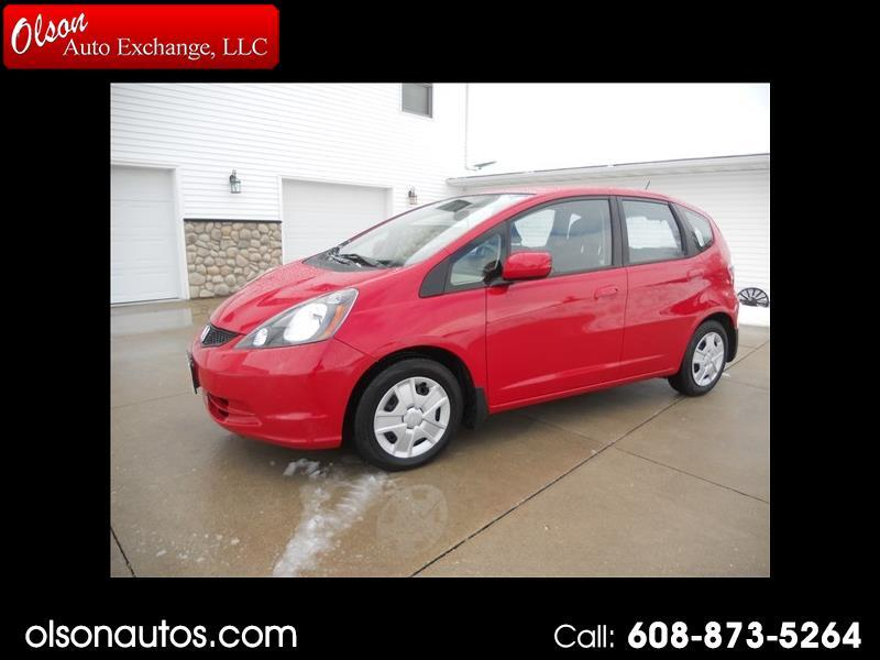 Honda Fit 5-Speed AT 2012