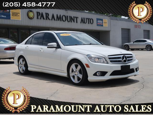 2010 Mercedes-Benz C-Class 4dr Luxury Sdn 3.0L 4MATIC