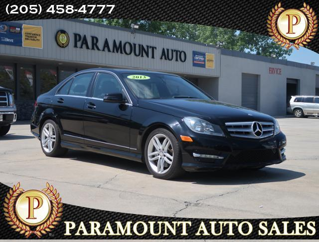 2013 Mercedes-Benz C-Class 4dr Luxury Sdn 3.0L 4MATIC