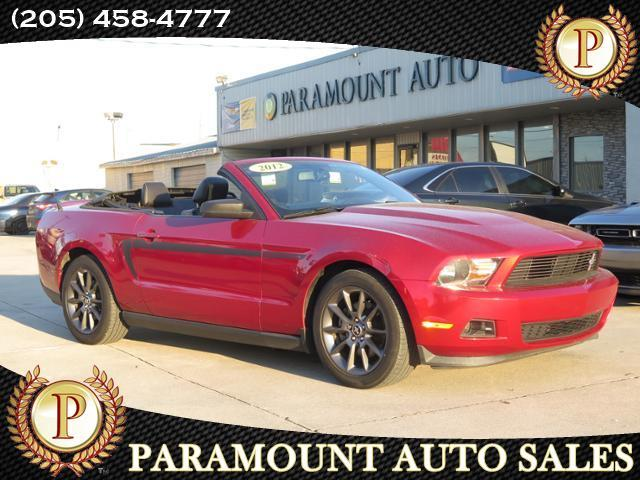 2012 Ford Mustang 2dr Conv