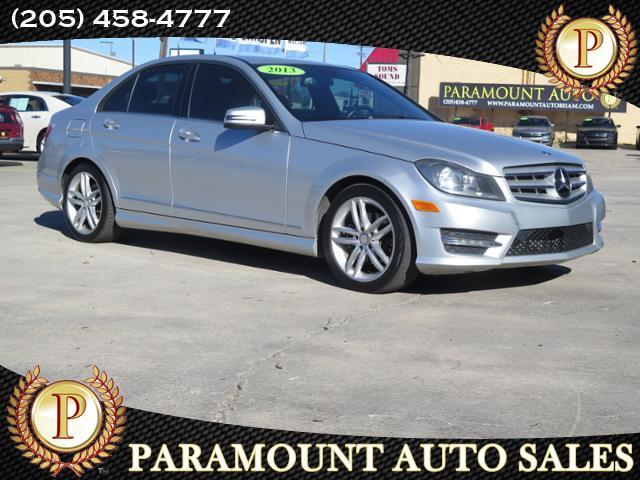 2013 Mercedes-Benz C-Class 4dr Luxury Sdn 3.0L