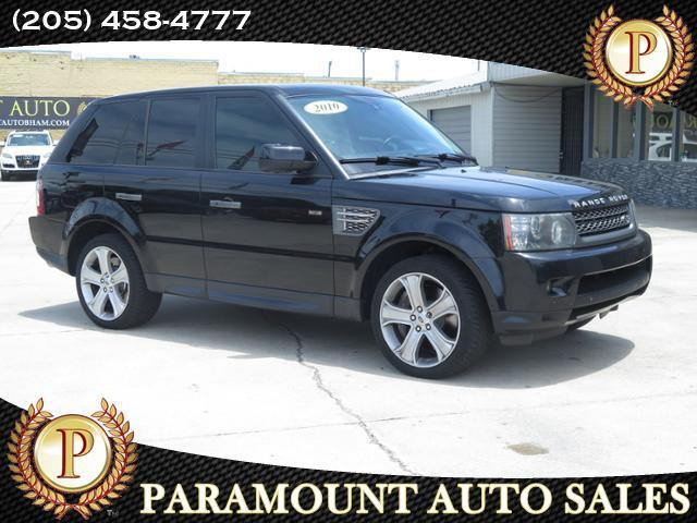 2010 Land Rover Range Rover Sport 4WD 4dr Supercharged