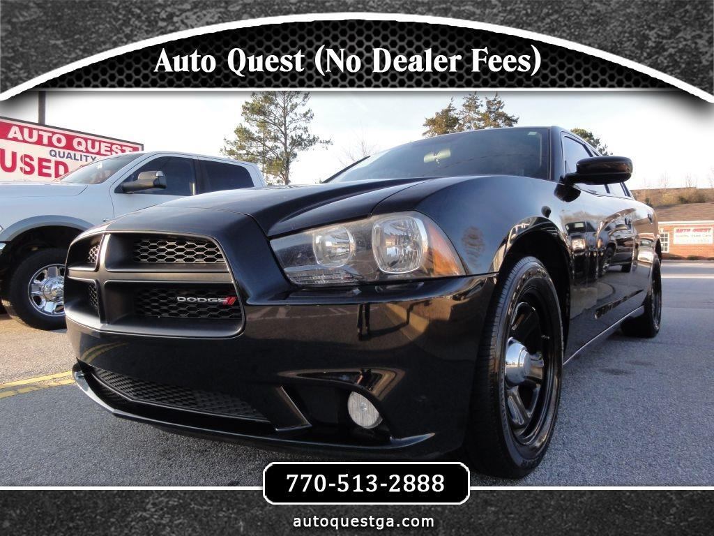 Dodge Charger 4dr Sdn Police RWD 2012