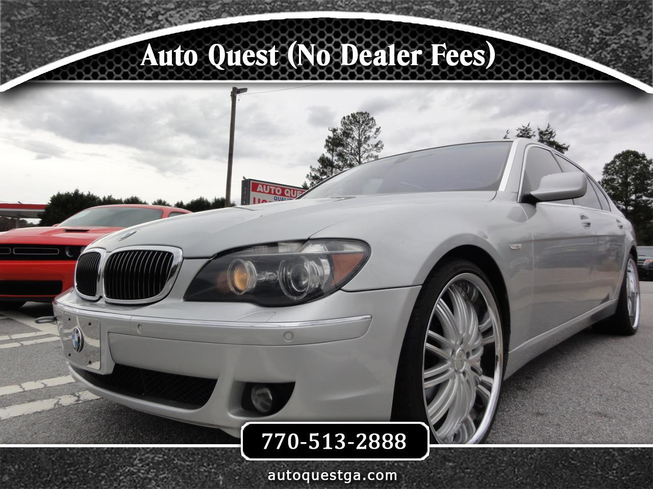 BMW 7 Series 4dr Sdn 750Li 2008