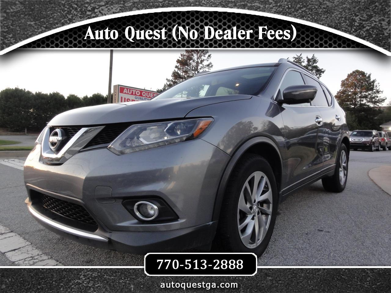 Nissan Rogue FWD 4dr SL 2014