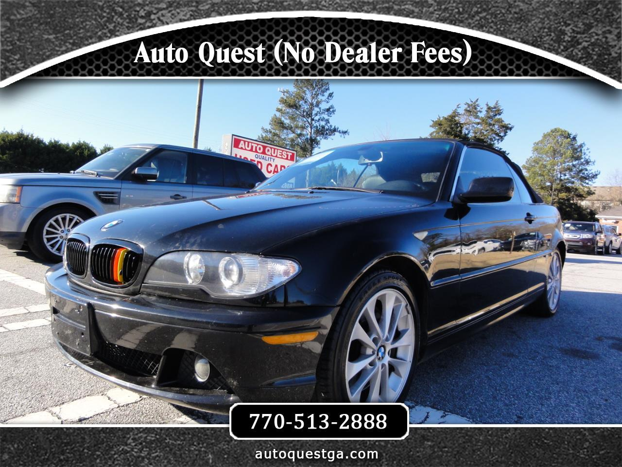 BMW 3 Series 330Ci 2dr Convertible 2006