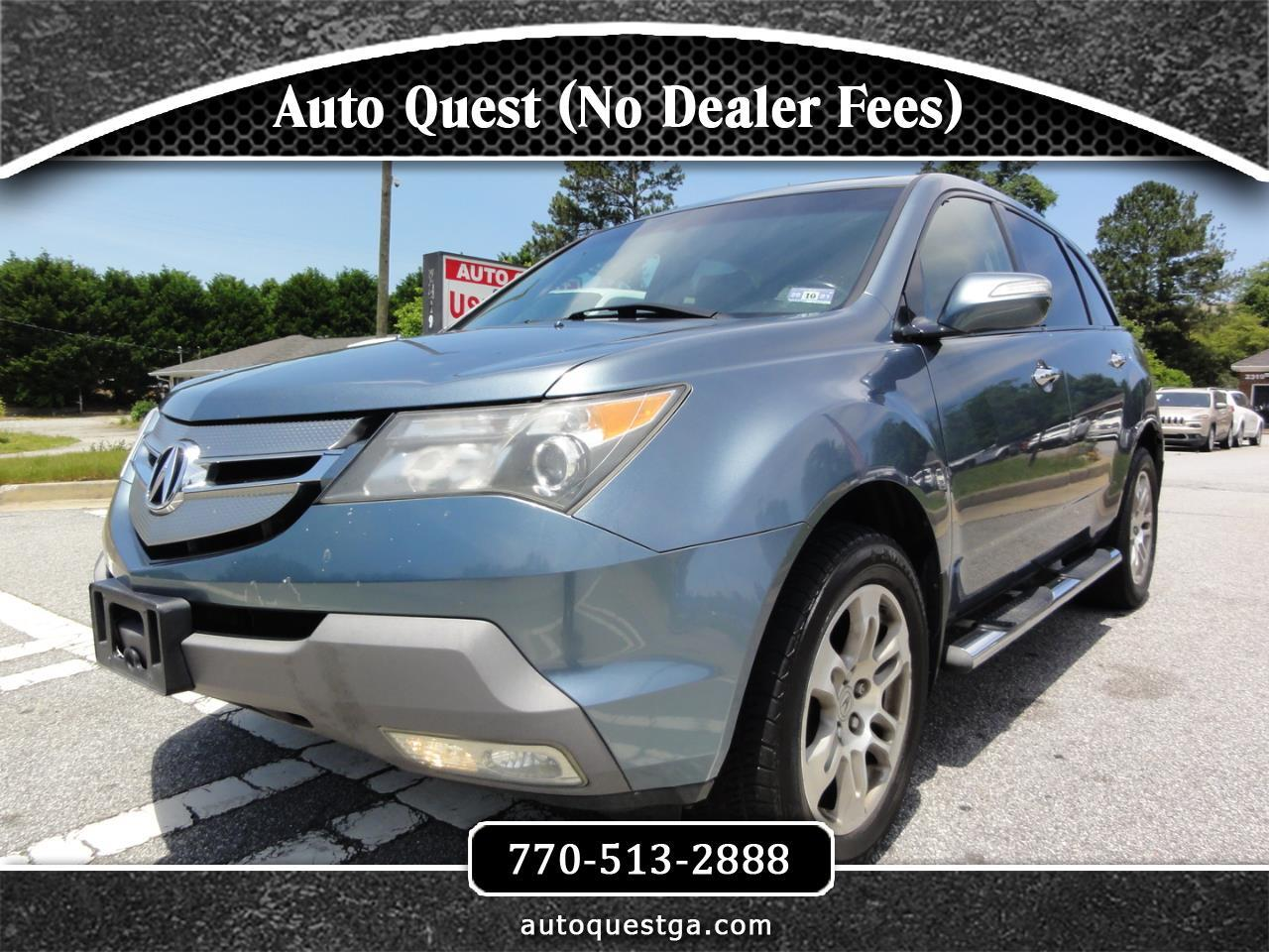 Acura MDX 4WD 4dr Tech/Pwr Tail Gate 2008