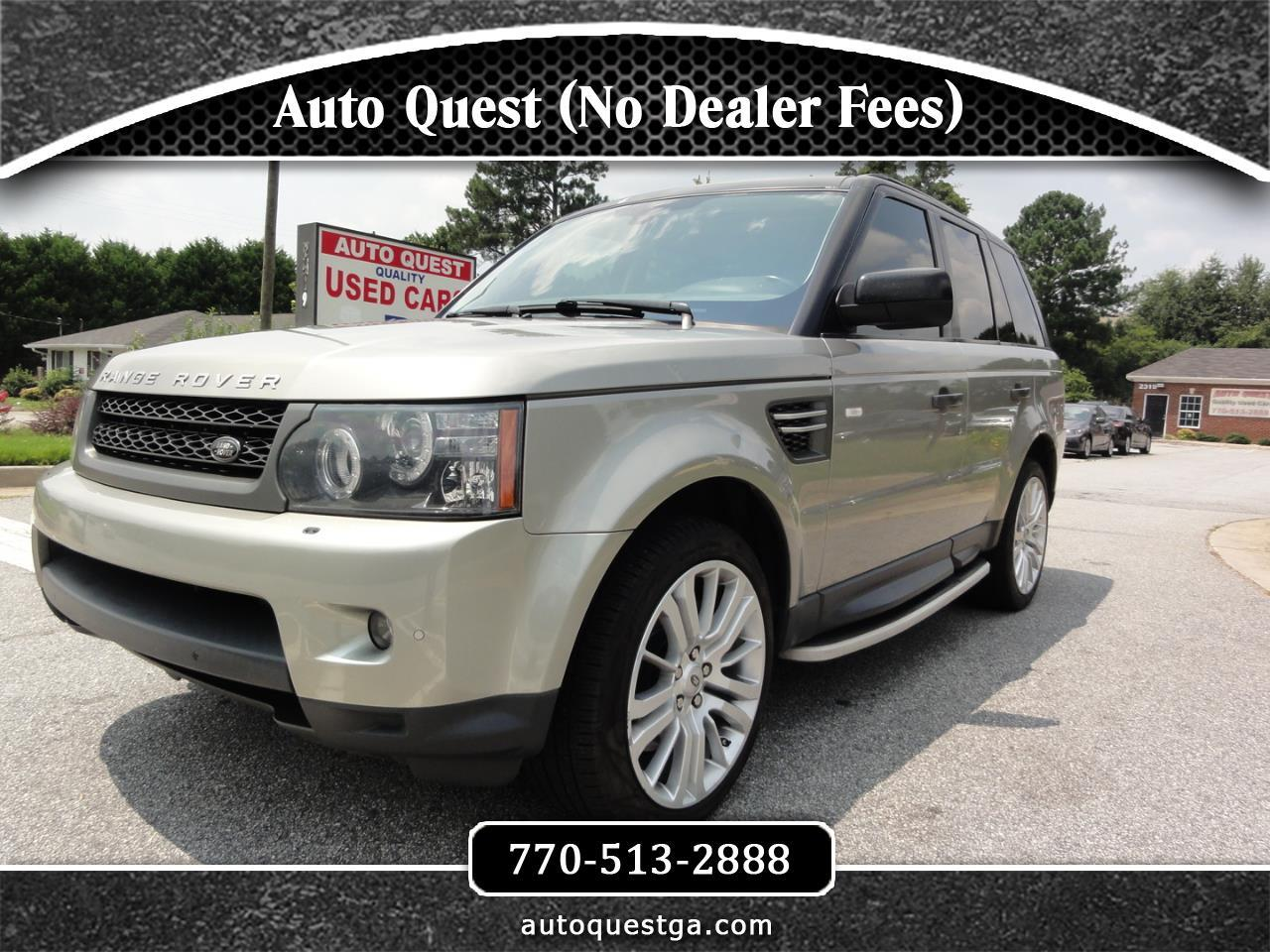 Land Rover Range Rover Sport 4WD 4dr HSE LUX 2011