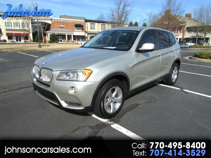 2011 BMW X3 AWD 4dr xDrive28i