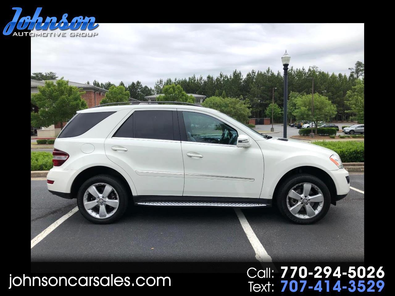 Used 2011 Mercedes-Benz M-Class ML350 for Sale in Duluth GA 30097