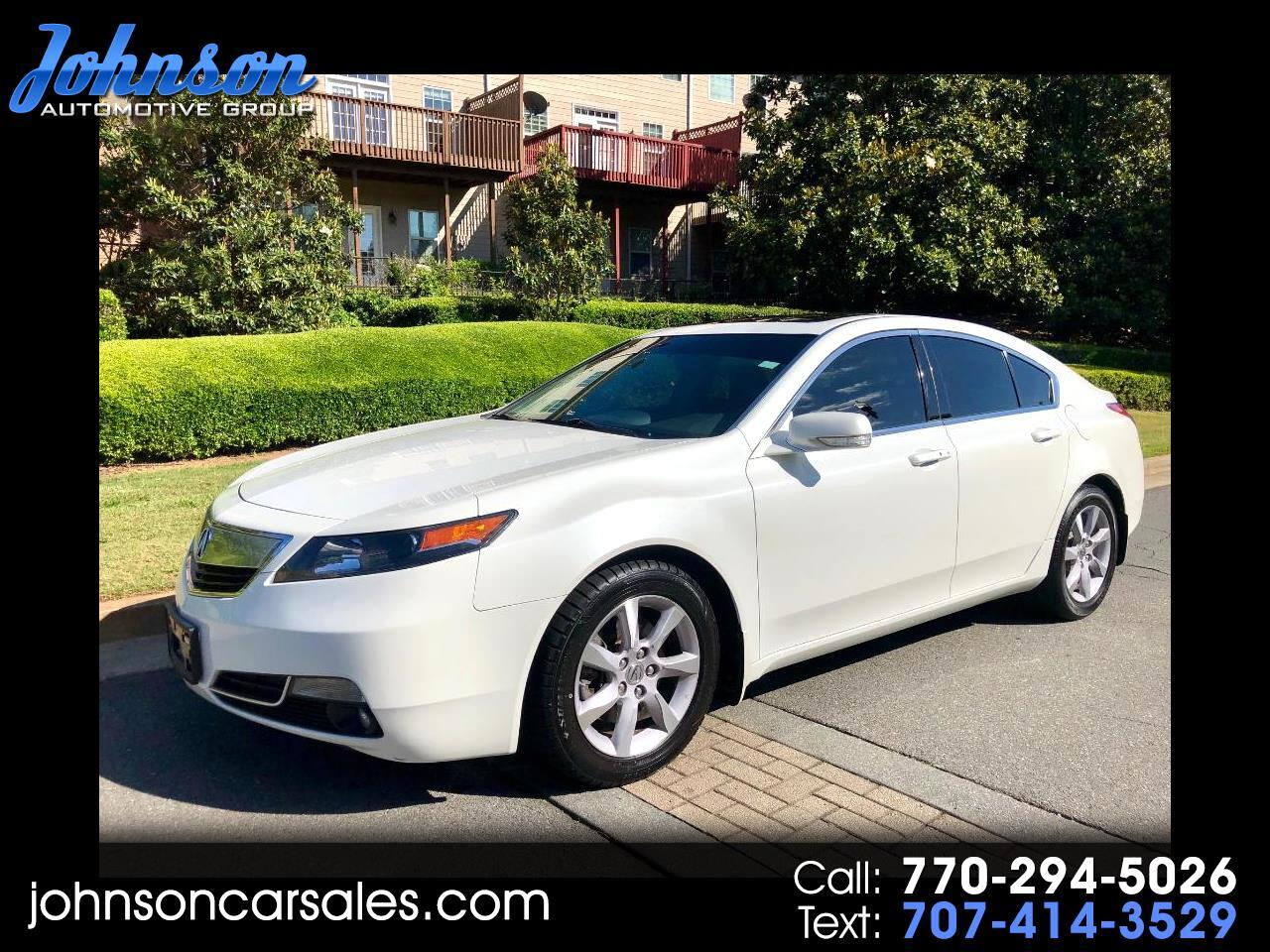 Acura TL 6-Speed AT with Tech Package and 18-In. WP 2014