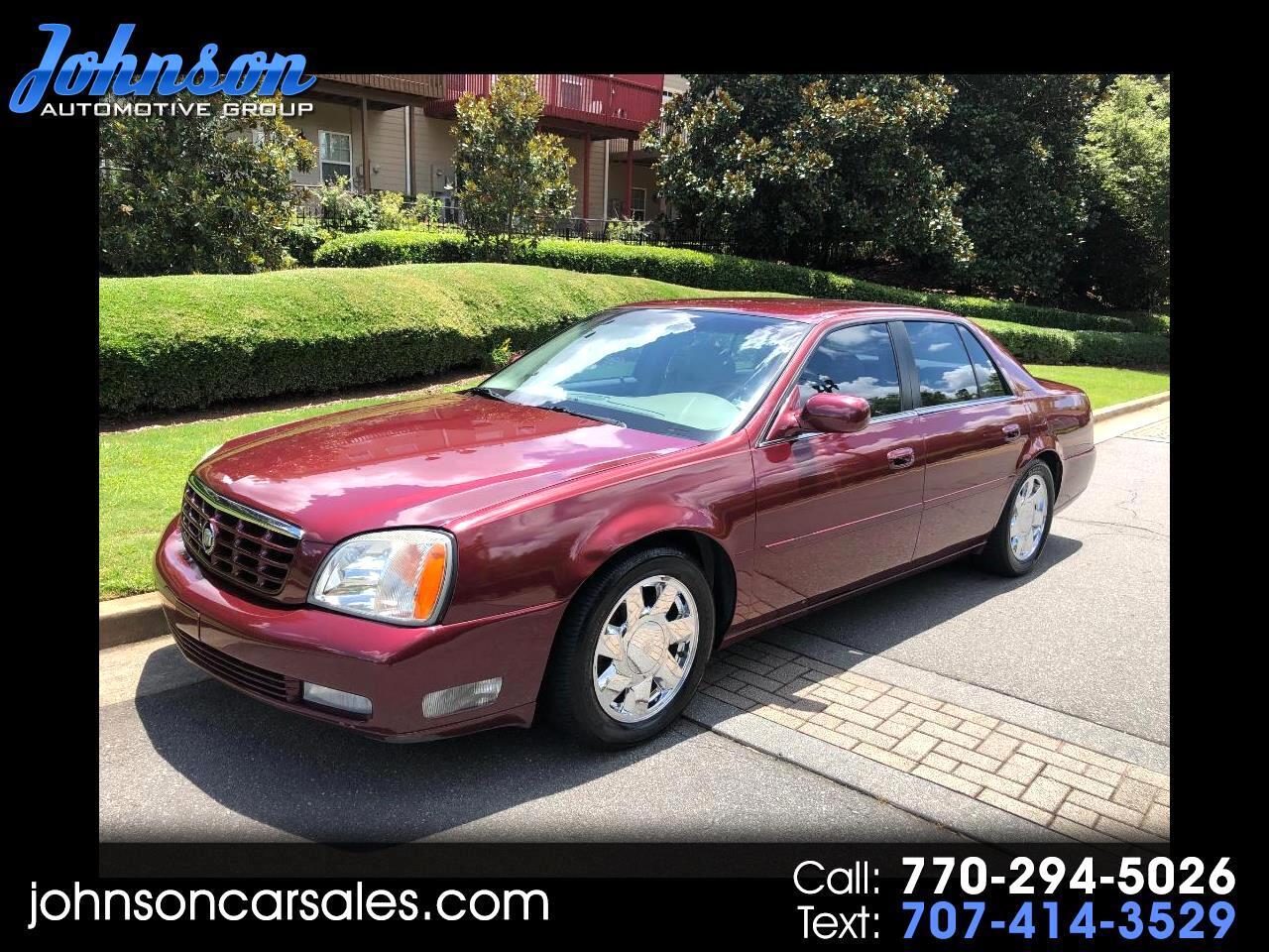 Cadillac DeVille DTS 2000