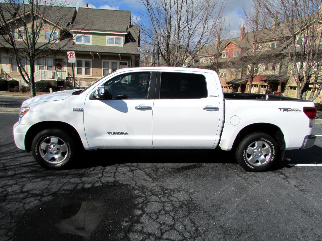 Toyota Tundra Limited 5.7L CrewMax 2WD 2011