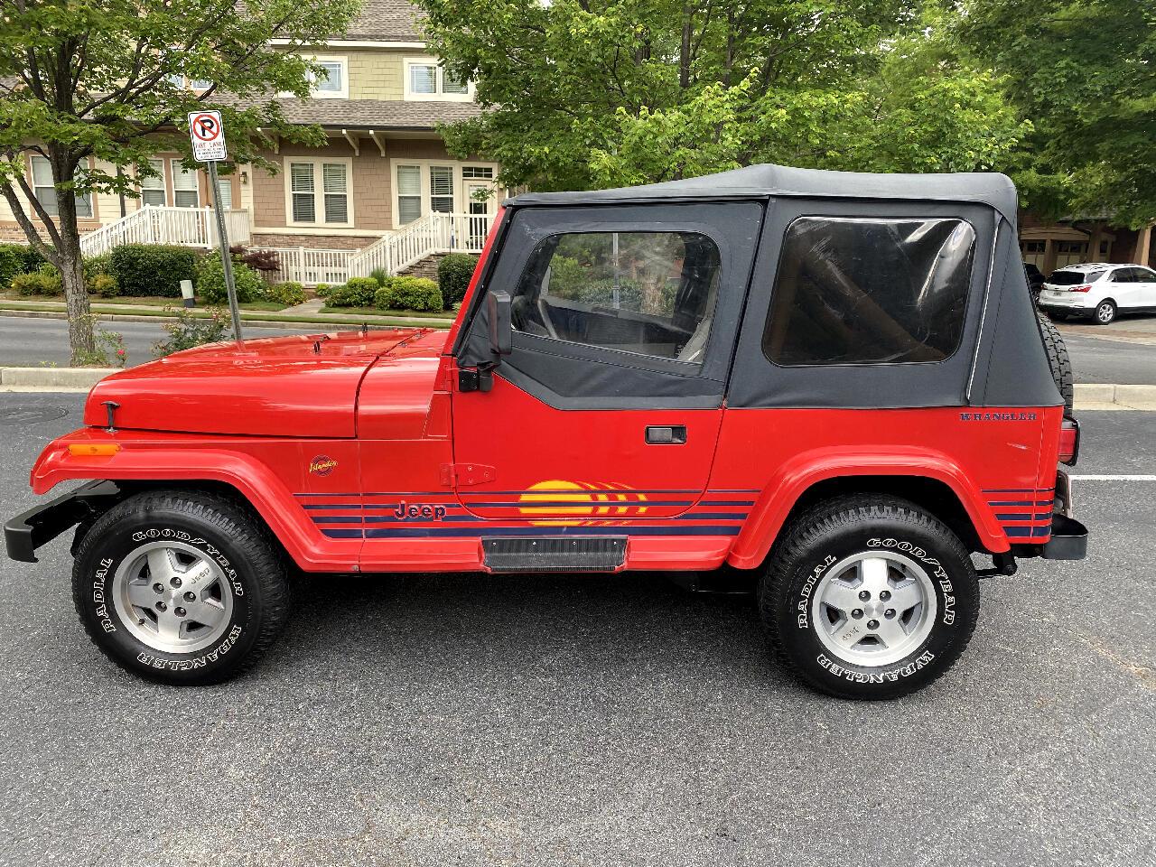Jeep Wrangler Islander Soft Top 1989