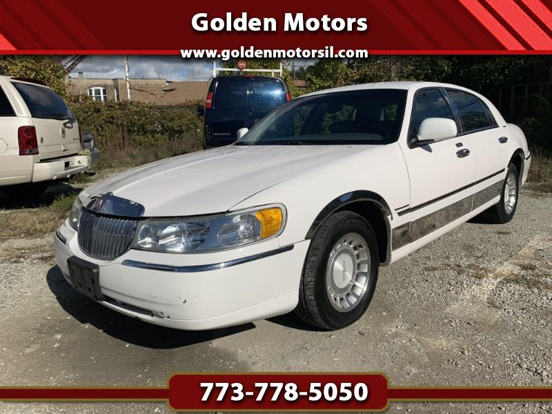 Used 2001 Lincoln Town Car For Sale In Chicago Il 60636 Golden Motors