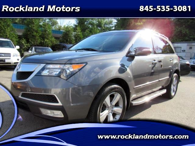 2011 Acura MDX 6-Spd AT w/Tech Package