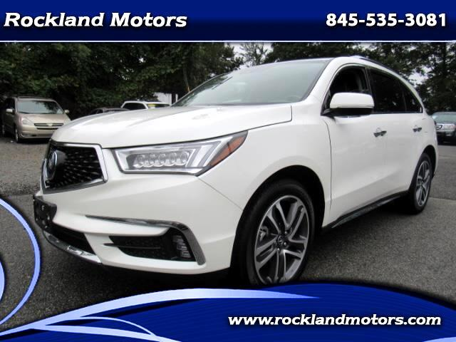 2018 Acura MDX 9-Spd AT SH-AWD w/Advance Package