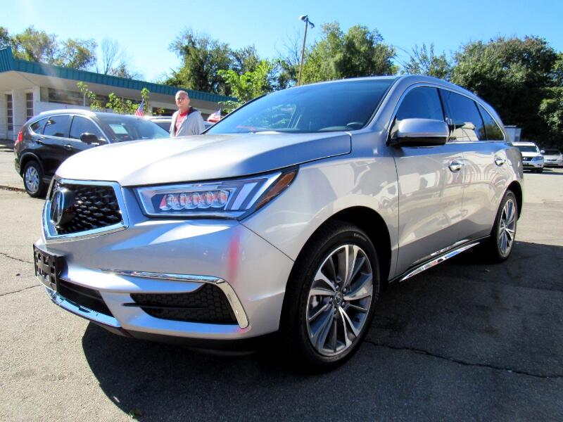 2018 Acura MDX SH-AWD 9-Spd AT w/Tech Package