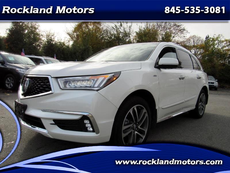 2017 Acura MDX Sport Hybrid SH-AWD w/Advance Package