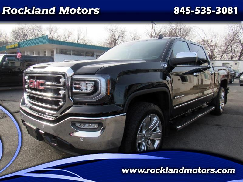 2016 GMC Sierra 1500 SLT Z71 Crew Cab Long Box 4WD