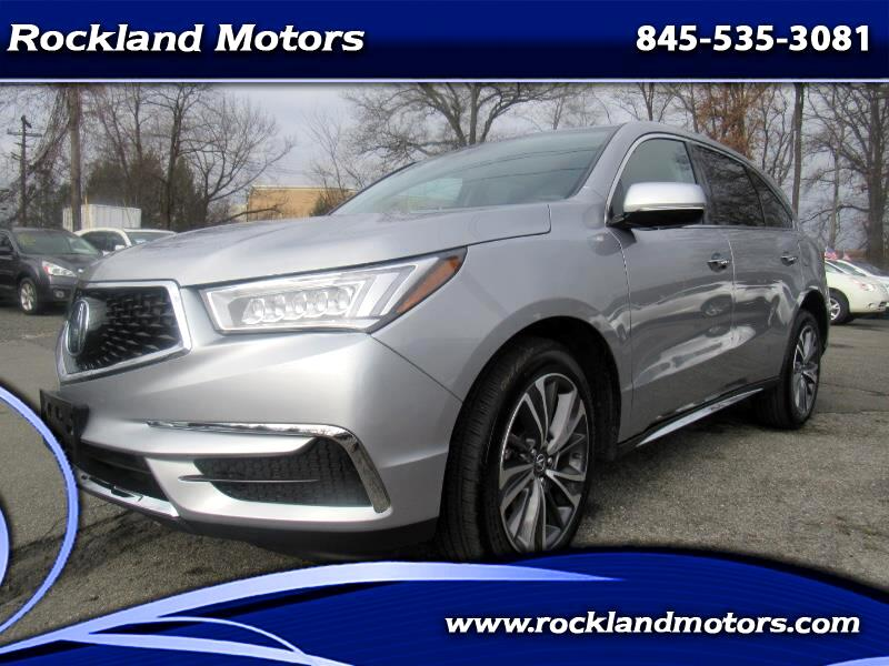 2019 Acura MDX SH-AWD 9-Spd AT w/Tech Package