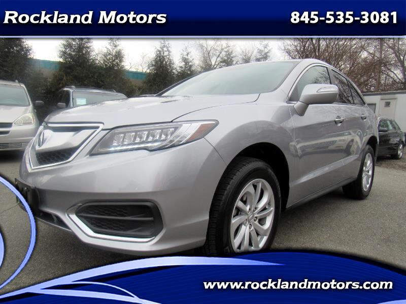 2018 Acura RDX 6-Spd AT AWD